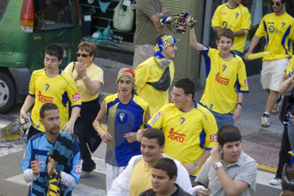 El Cádiz celebra el ascenso